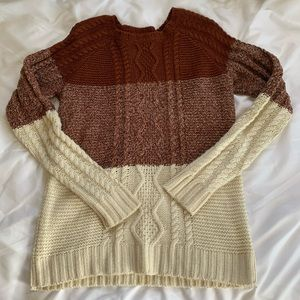 Fall Cozy Sweater